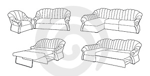 Classic Furniture Royalty Free Stock Photos - Image: 15242238