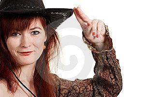 Cowboy Girl Stock Photography - Image: 15242792