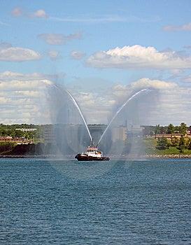 Harbor Tug Boat Stock Image - Image: 15245881