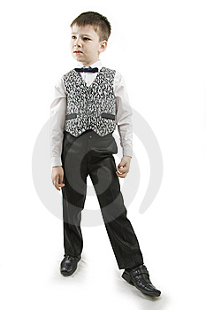 Serious Boy. Royalty Free Stock Photos - Image: 15247248