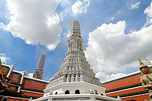 Thailand Giant Stupa Royalty Free Stock Photography - Image: 15247277