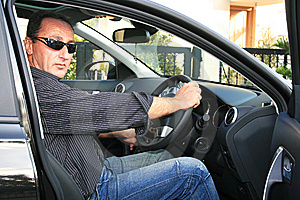 Man In Car Stock Images - Image: 15247944