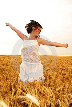 Girl Jumping Stock Photos - Image: 15248113