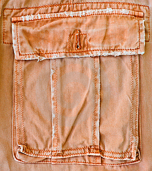 Orange Pant's Pocket Stock Photos - Image: 15249163
