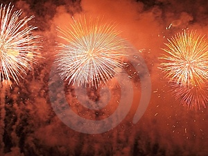 Beautiful Fireworks III Royalty Free Stock Photos - Image: 15250628