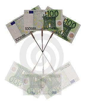 Euro Concetto Immagine Stock Libera da Diritti - Immagine: 15250686