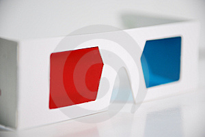 3D Glasses Royalty Free Stock Photo - Image: 15253475