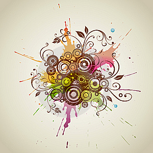 Flaral Design Element Royalty Free Stock Photos - Image: 15257608