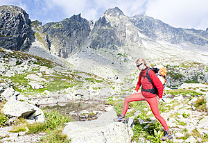 Woman Backpacker Royalty Free Stock Photos - Image: 15258048