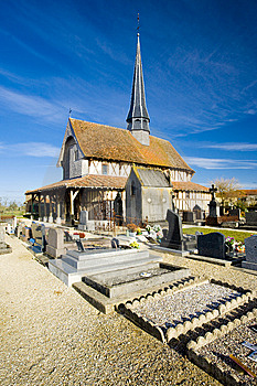 Church In Bailly-le-Franc Royalty Free Stock Image - Image: 15258226