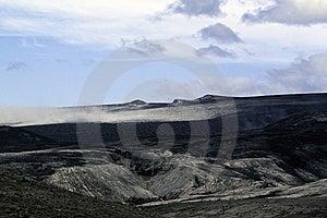 Blackened Glacier Stock Image - Image: 15258331