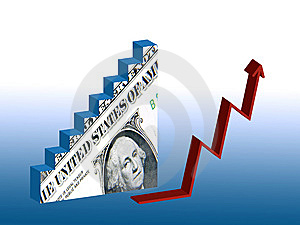 Dollar Recovery Royalty Free Stock Photography - Image: 15260907
