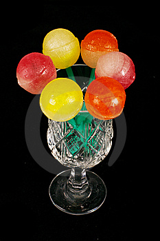 Colorful Sweet Lollipops Royalty Free Stock Photo - Image: 15261555