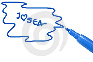 Marker Pen Writing Stock Image - Image: 15263921