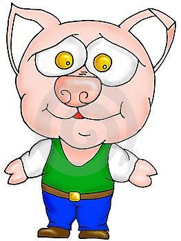 Pig Farmer Royalty Free Stock Photos - Image: 15264358