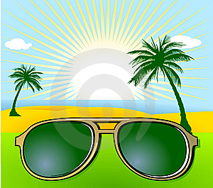 Holiday And Sunglasses Stock Image - Image: 15264401