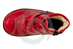 Red Shoe Stock Images - Image: 15264554