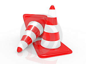 Traffic Cone Royalty Free Stock Photography - Image: 15265667