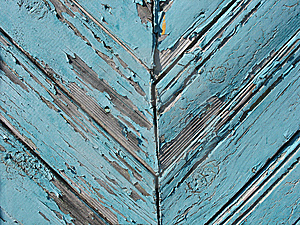 Blue Wooden Fence Stock Photography - Image: 15265742