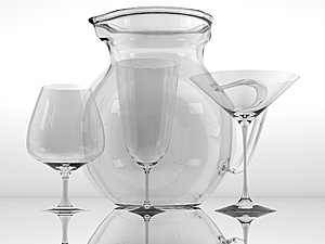Pure Glass Collection Royalty Free Stock Photo - Image: 15265845