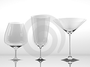 Pure Glass Collection Stock Photo - Image: 15265850