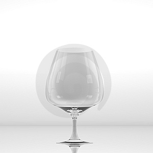 Pure Glass For Wine Or Whisky Stock Photo - Image: 15265860
