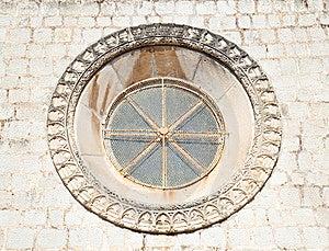 Beautiful Historical Window In Mediterranean Style Stock Image - Image: 15266971