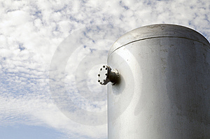 The Fire-prevention Tank Stock Images - Image: 15268264