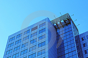 Part Of  Skyscraper Royalty Free Stock Photography - Image: 15269827