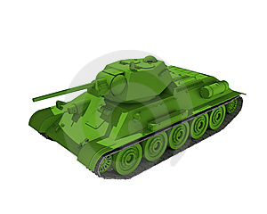 Medium Tank Royalty Free Stock Photos - Image: 15269898