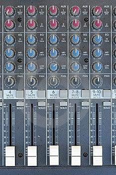 Audio Mixer Hardware Stock Photos - Image: 15270813