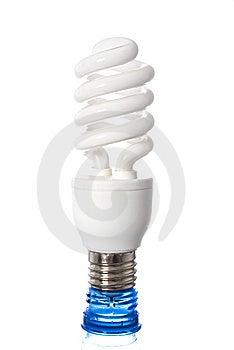 Energy Saving Bulb Stock Images - Image: 15273124