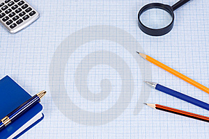 School Accessory Royalty Free Stock Photography - Image: 15276807