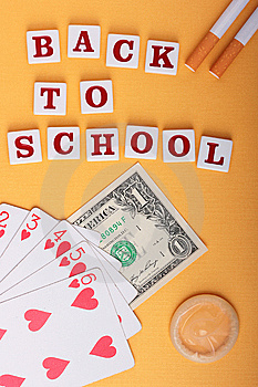 Humour Back To School Stock Photography - Image: 15277342