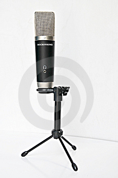 Professional Microphone Stock Image - Image: 15279971