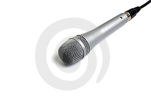 Microphone Stock Photography - Image: 15281402