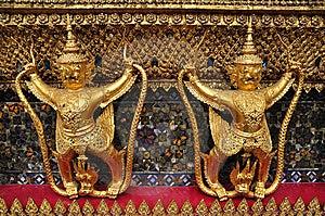 Statue Of Garuda Royalty Free Stock Photography - Image: 15281527