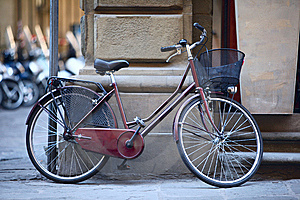 Bicyclette Italienne Photographie stock libre de droits - Image: 15283267