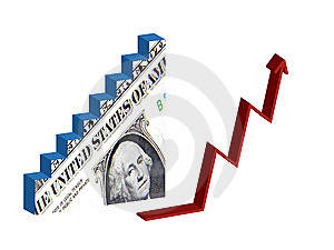 Dollar Recovery Royalty Free Stock Photography - Image: 15286277
