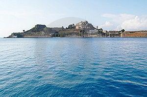 Corfu Harbour Stock Photo - Image: 15286730