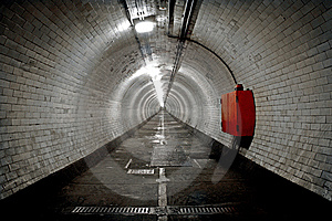 Greenwich Foot Tunnel, London. Royalty Free Stock Images - Image: 15287579