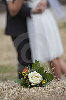 Wedding Bouquet With Rose Stock Images - Image: 15289164