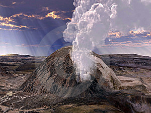 Volcanic Eruptions Royalty Free Stock Photos - Image: 15293958