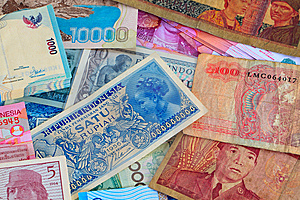 Vinatge Indonesian Currency Stock Images - Image: 15296654