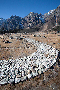 Rocky Mountain Path Stock Photography - Image: 15297092