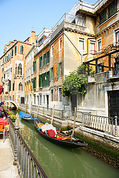 Venice Canal Royalty Free Stock Photo - Image: 15297125