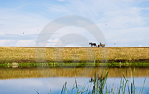 Natur And River Royalty Free Stock Images - Image: 15299009