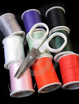 Sewing Kit Royalty Free Stock Photo - Image: 1530825