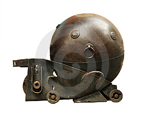 Old Bomb Royalty Free Stock Image - Image: 15302206