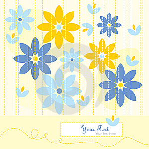 Yellow Greeting Card Stock Images - Image: 15304264